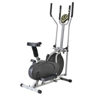 Elliptical Exercise 2 IN 1 Cross Cardio Fitness Trainer Machine Gym