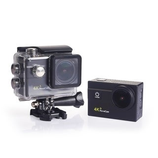 MonoRover RoveCam C1, 4K Action Camera, Waterproof Cam DV Camcorder