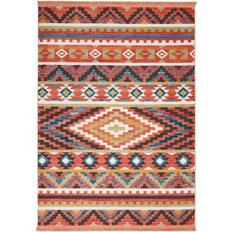 Nourison Tribal Decor Patterned Area Rug