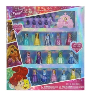 Disney Princess 15 Pk Nail Polish with Toe Spacer