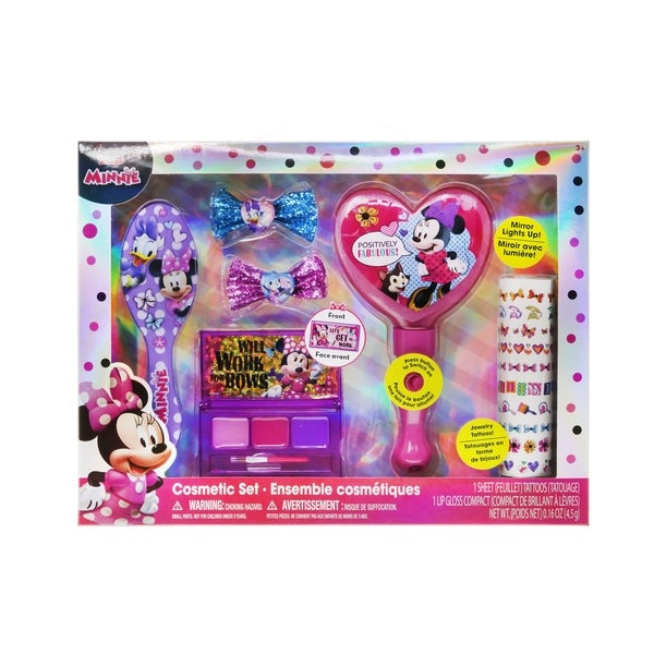 51fbb719ac74b Shop Disney Minnie Large Cosmetic Set - Free Shipping On Orders Over ...
