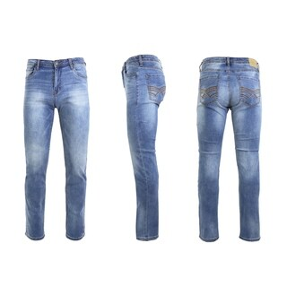 Native Jeans Men's Washed Slim Fit Stretched Jeans Straight Leg (More options available)