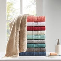 Madison Park Essentials Remy Super Soft 6-piece Cotton Towel Set 7 Color Option