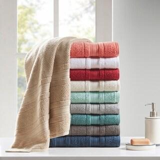 Madison Park Essentials Remy Super Soft 6-piece Cotton Towel Set 7 Color Option