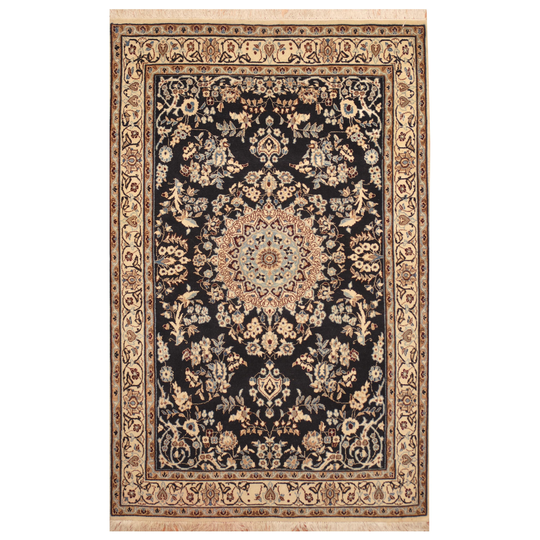 Handmade Herat Oriental Persian Hand-Knotted Wool & Silk ...
