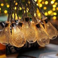 Christmas Festival ® 10 LEDs Battery Operated String Light - Pear