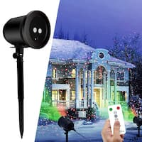 Indoor & Outdoor LED Laser Shower Projector Light