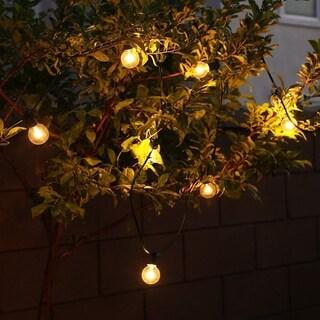 Christmas Festival ® G40 Globe Garden Glass Bulb String Light