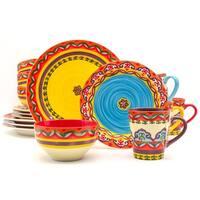 Euro Ceramica Galicia 16-piece Dinnerware Set (Service for 4)