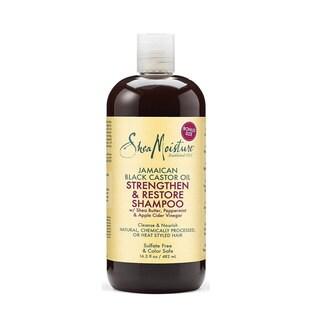 Shea Moisture Jamaican Black Castor 16-ounce Oil Replenishing Shampoo