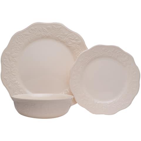 Country Villa 18Pc Dinnerware Set
