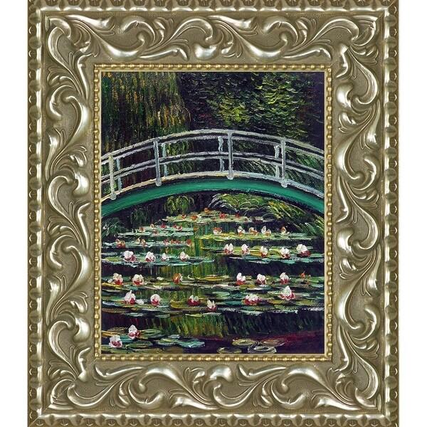 Claude Monet 'The Japanese Bridge' Hand Painted Oil Reproduction