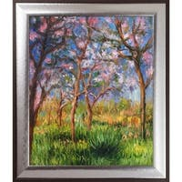 Claude Monet 'Giverny in Springtime' Hand Painted Oil Reproduction