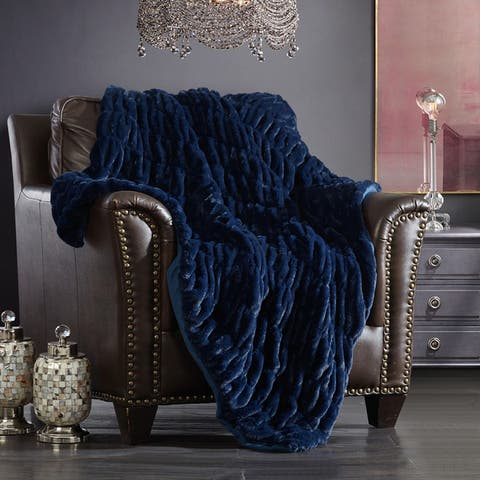 Chic Home Aio Ultra Plush Decorative Throw