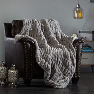 Chic Home Aio Ultra Plush Decorative Shaggy Faux Fur Throw