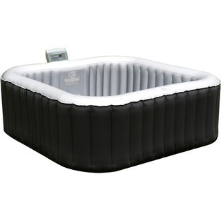 MSPA M-009LS Lite Alpine Black Square Inflatable Spa