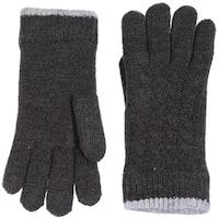 d5f121ac7 Women Cable Ultra Warm Soft Plush Faux Fur Fleece Lined Knit Gloves