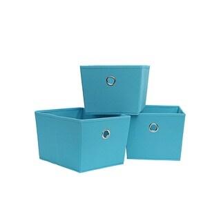 KD Storage Tote 3-PC Set (SkyBlue)