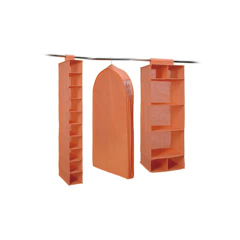 3-Pc. Combo Closet Storage (Salmon)