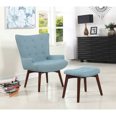 Best Master Furniture Capri Arm Chair and Ottoman