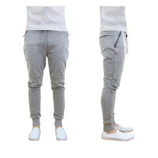 Galaxy By Harvic Men's Tech Fleece Jogger Sweatpants Lounge Active Slim Fit (4 options available)
