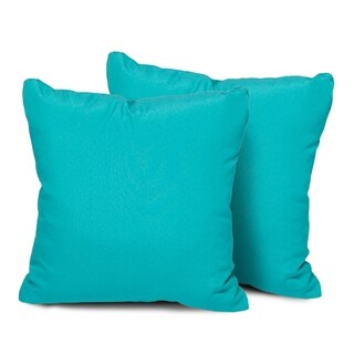 Aruba Outdoor Throw Pillows Square Set of 2