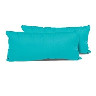 Aruba Outdoor Throw Pillows Rectangle Set of 2