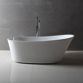 Dyconn Faucet Benerento Bathroom Freestanding Contemporary Bathtub