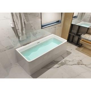 Dyconn Faucet Treviso Bathroom FreeStanding/ Against Wal Bathtub