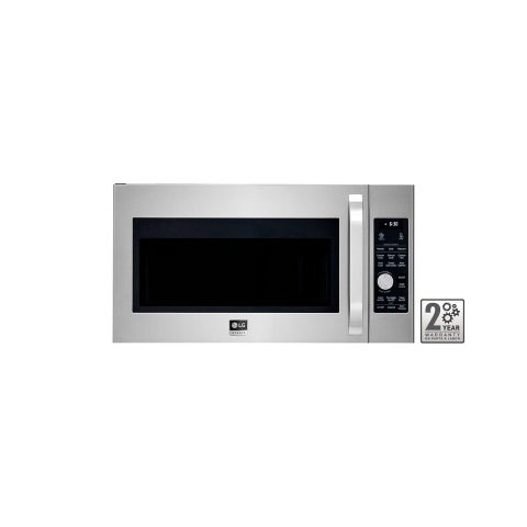 LG STUDIO LSMC3086ST - 1.7 cu. ft. Stainless Steel Over-the-Range Convection Microwave Oven