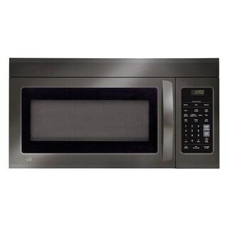LG LMV1831BD - 1.8 cu.ft. Black Stainless Steel Over-the-Range Microwave Oven