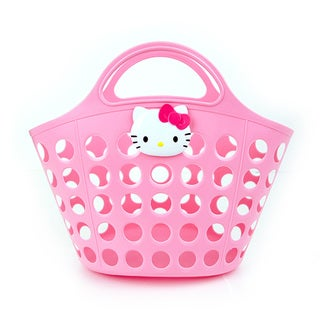 Hello Kitty Pink Basket Shower Beach Caddy