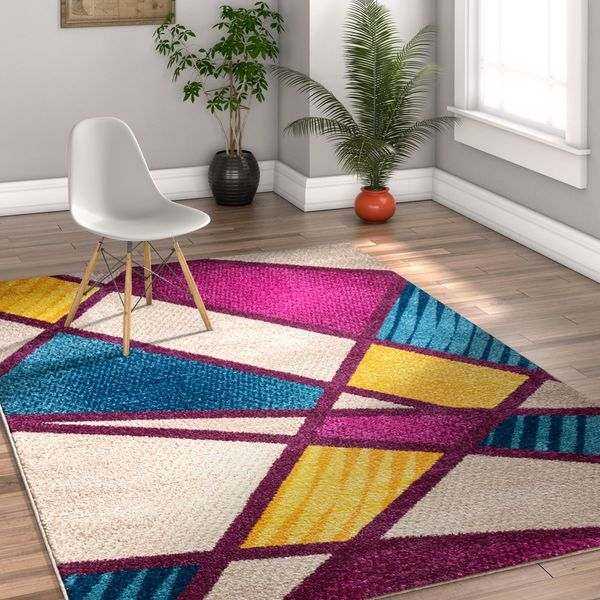 Well Woven Melbourne Modern Multi Area Rug - 7'10 x 9'10