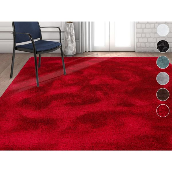 Well Woven Modern Solid Thick Area Rug - 7'10 x 9'10