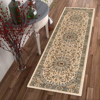 "Well Woven Vintage Medallion Oriental Area Rug - 2'8"" x 12'"
