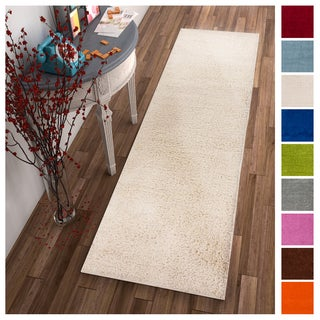 Well Woven Soft and Plush Solid Area Rug - 2' x 7' (2 options available)