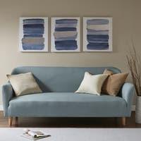 Urban Habitat Traveling Road Navy Multi Printed Canvas with Sliver Foil 3-piece Set