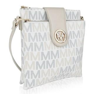 MKF Collection by Mia K. Farrow Nadien Milan M Signature Crossbody Bag