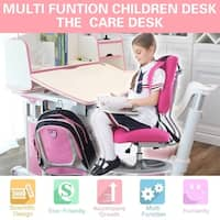 KidS Sit and Stand Ergonomic Height Adjustable Desk- The Care Desk
