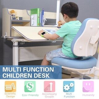 The Care Desk Kids Sit and Stand Ergonomic Adjustable-height Desk