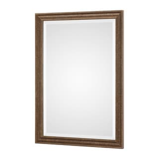 Uttermost Rydal Distressed Bronze Mirror - Bronze/Gold - 23.5x33.5x1