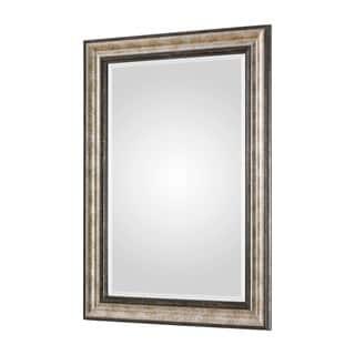 Uttermost Shefford Antiqued Silvertone Mirror - Bronze/Silver - 31x43x1.625