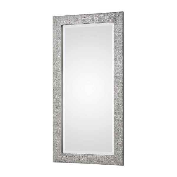Uttermost Tulare Metallic Silver Wall Mirror - 24x48x1. Opens flyout.