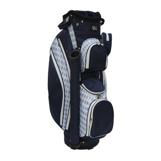 "RJ Sports LB-960 9"" Ladies Cart Bag w/ 3pk Head Cover (Option: Argile/Navy)"