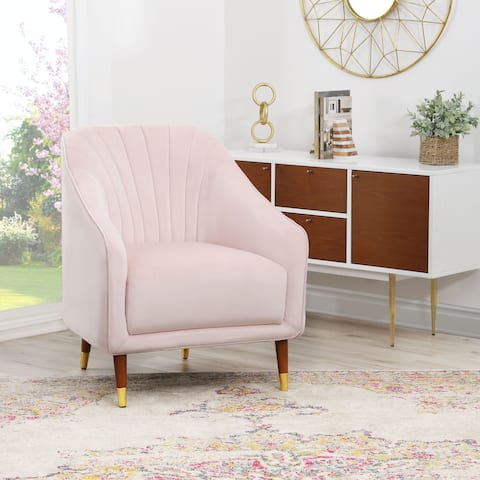 Pink Mid Century Modern Living Room Chairs Shop Online At Overstock