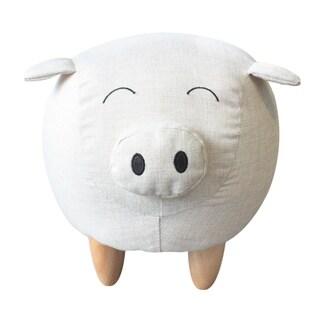 Piggy the Pig Kids Stool Ottoman