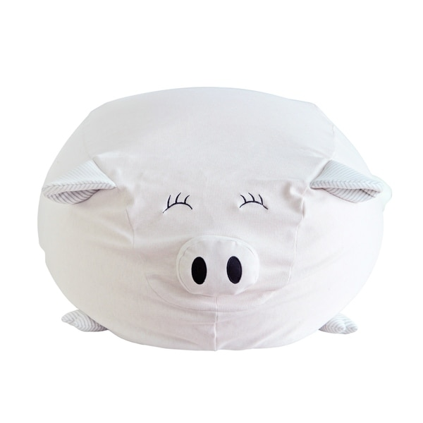 Shop Pigster The Pig Kids Bean Bag Chair Free Shipping