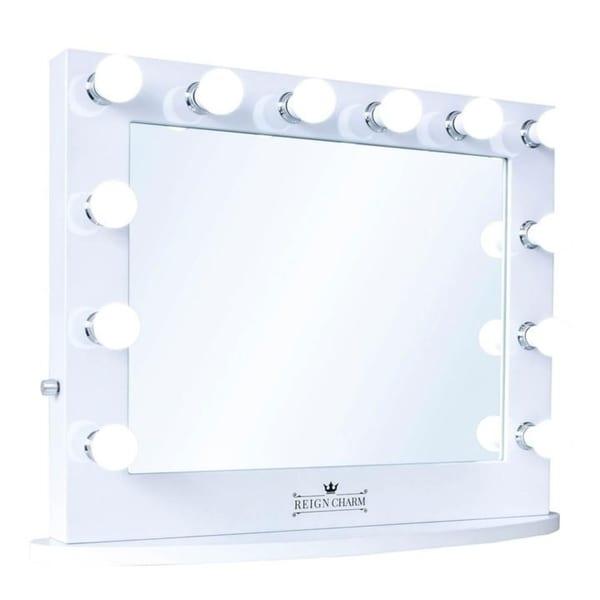 Shop Reigncharm Hollywood Vanity Mirror 12 Led Lights