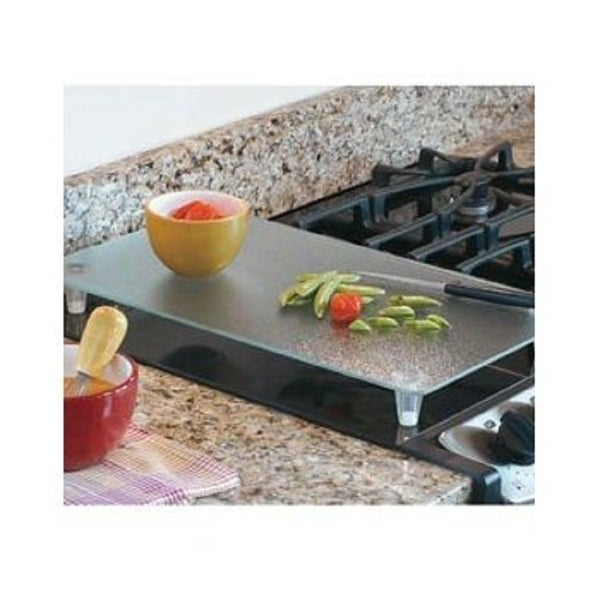 Kitchen Countertop Tempered Glass Instant Cover Heat Resistant Non-Slip Silicon