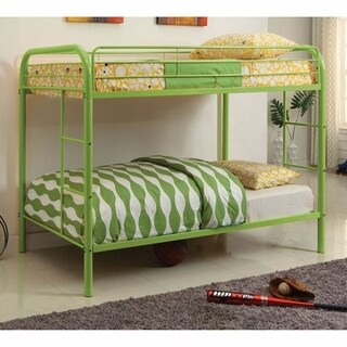 Rainbow Contemporary Bunk Bed, Green